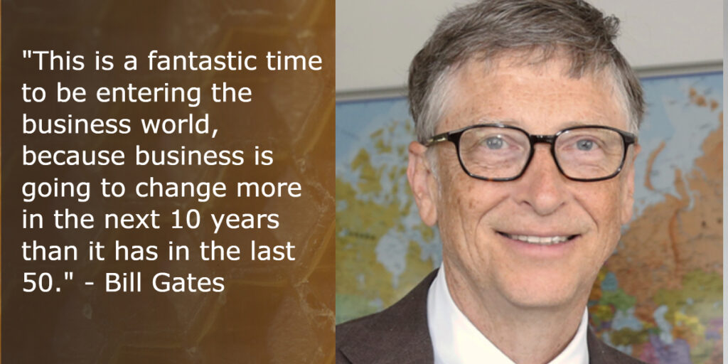 business advice from bill gates